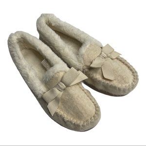 Sonoma Plush Slippers 7-8 Medium